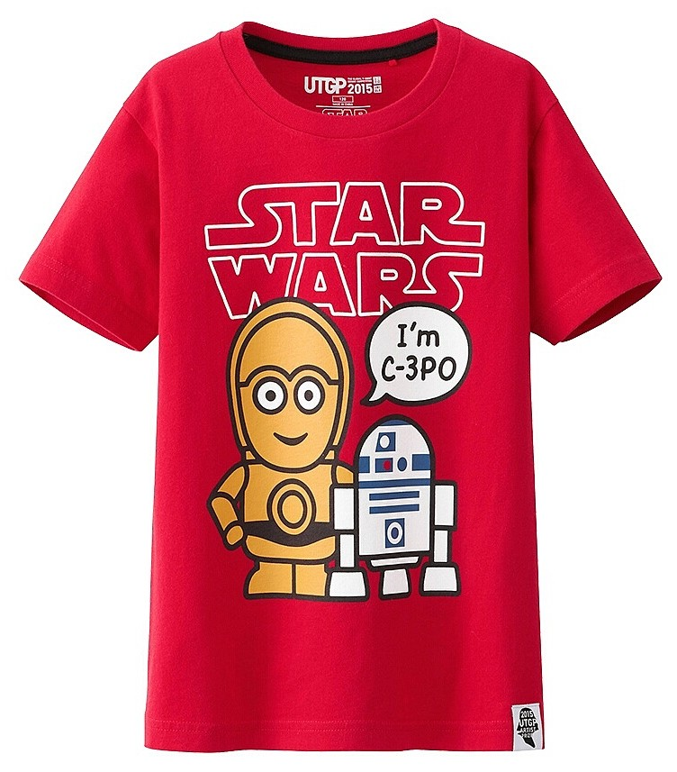 t shirts star wars uniqlo contre attaque guide du parent galactique. Black Bedroom Furniture Sets. Home Design Ideas