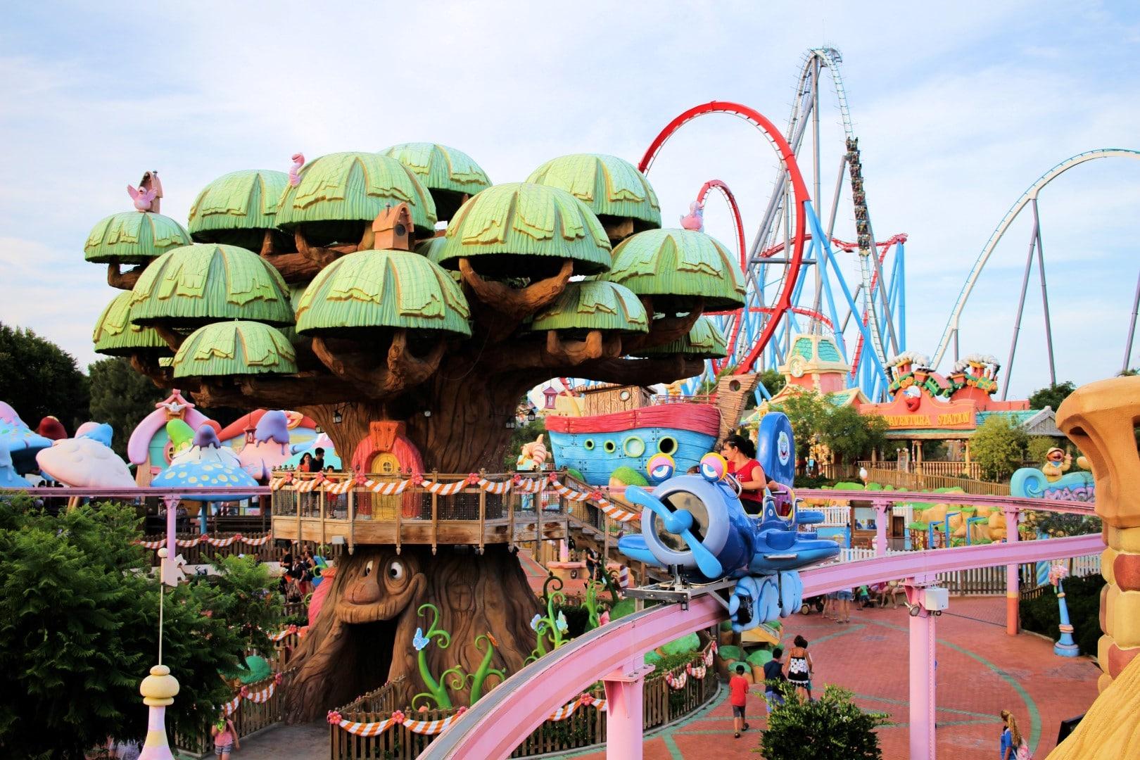 Portaventura le parc d attractions sous le soleil de l - Parc d attraction espagne port aventura ...